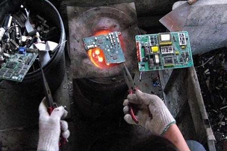 全球電子垃圾 毀了中國環境
